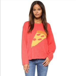 WILDFOX Slouchy Pizza Top
